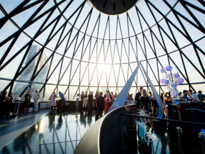 An event at Searcys at the Gherkin