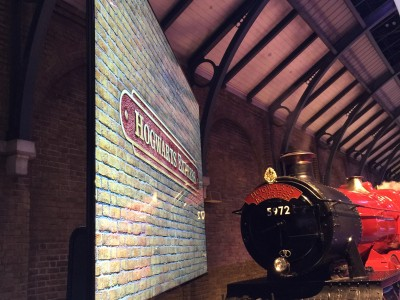 An event featuring the Hogwarts Express Train
