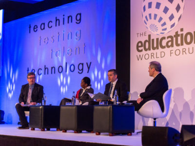 The Education World Forum four speakers