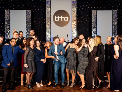 Team photo from the BHHA Brighton & Hove Hotelier Awards 2016