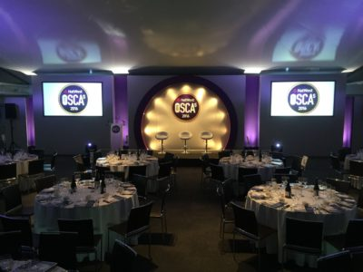 Gala Dinner & Stage for Natwest OSCA's 2016