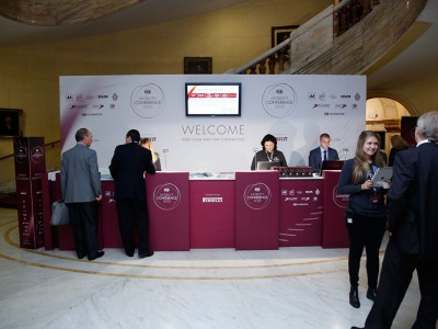 FIA: Mobility Conference 2015 front desk registration