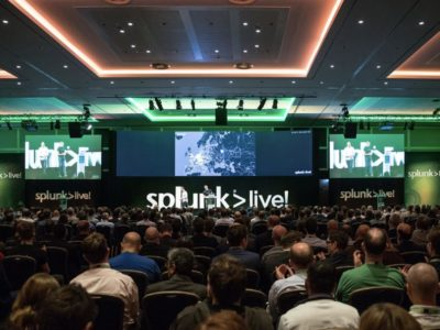 Guests at the Splunk Live seminar