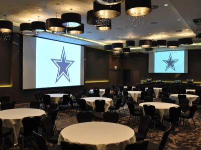 White and black themed party at Hilton Wembley Hotel Ballroom