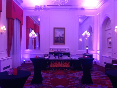 An event bar area at the Amba Hotel Charing Cross Hotel