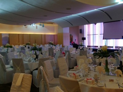 An elegant themed party setup at The Cumberland Hotel