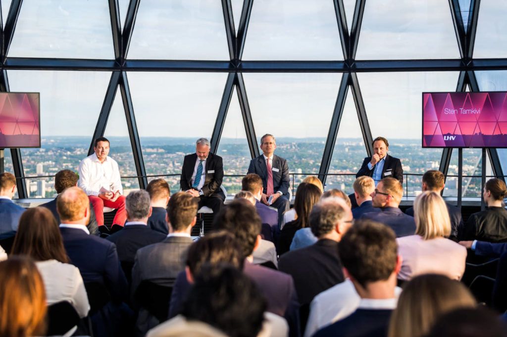 Corporate conference at the Gherkin in London