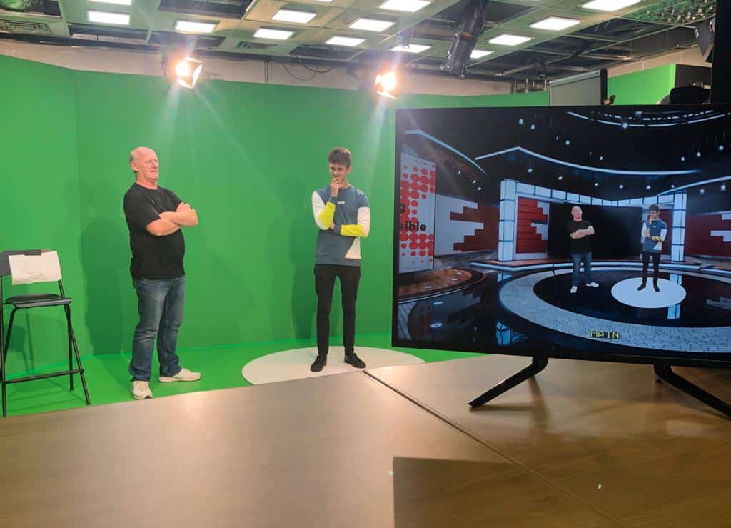 Eclipse Virtual Event Studio - With Green Screen And Online Broadcasting