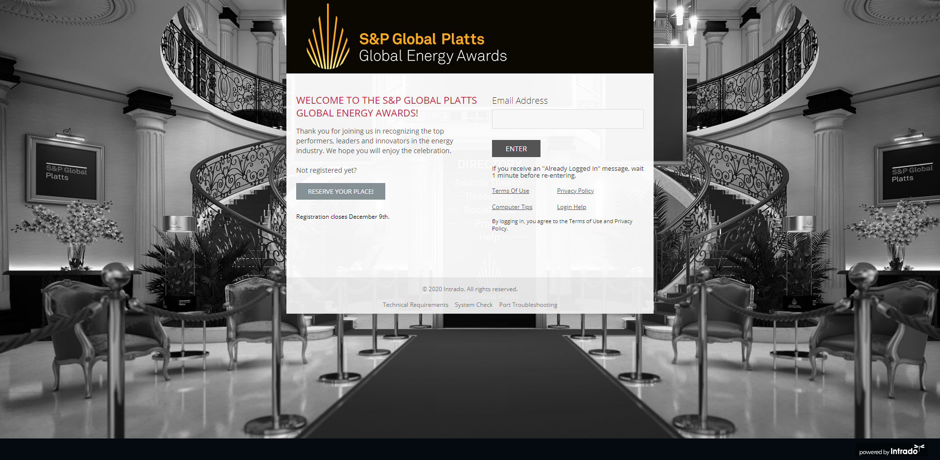 Platts Landing page