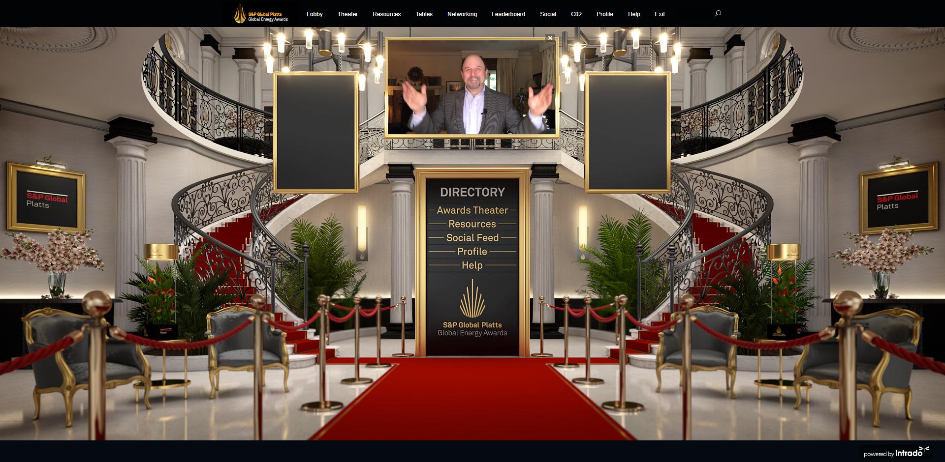 Platts Awards Lobby